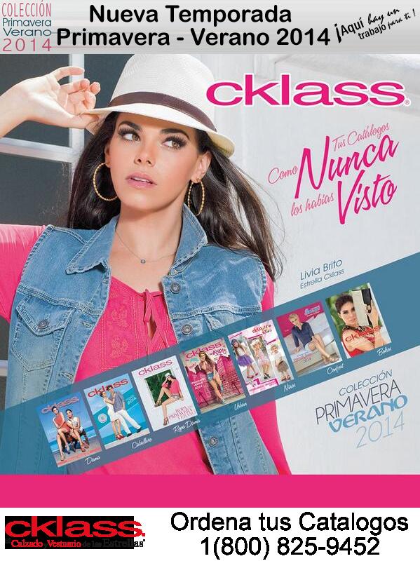 Catalogos Cklass Primavera 2014