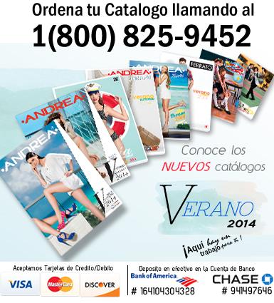 Catalogos Andrea Verano 2014