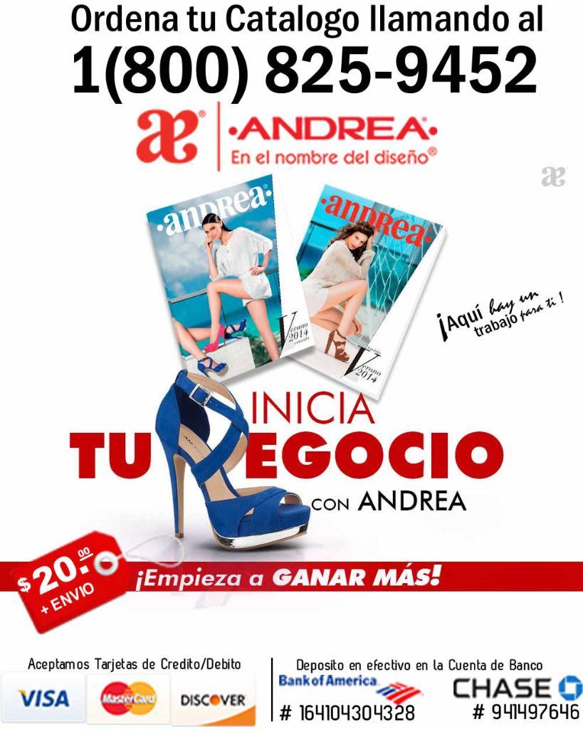 Andrea Verano 2014 -Venta por Catalogo-