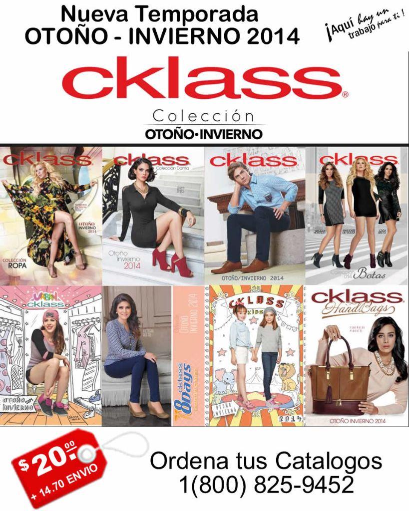Catalogos Cklass | El Vestuario de las Estrellas | Otoño – Invierno 2014