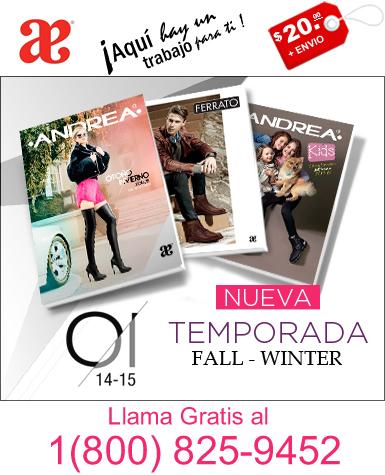 Zapateria Andrea USA 1(800) 825-9452