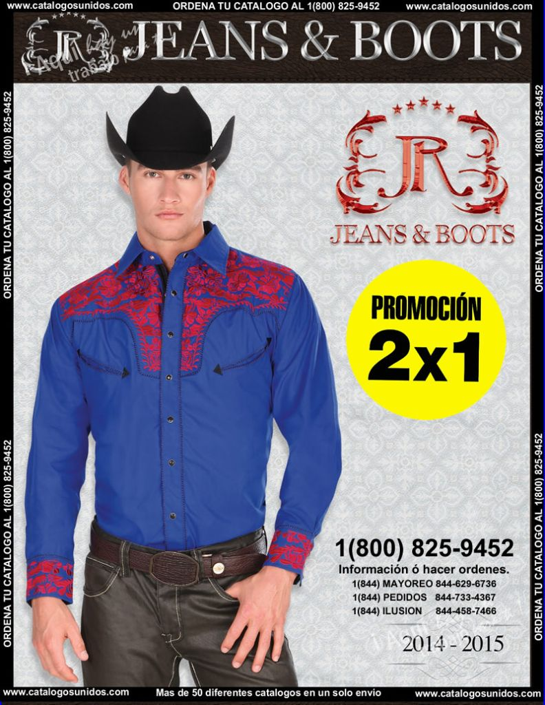 Catalogo JR Boots and Jeans Novedades 2014 – 2015