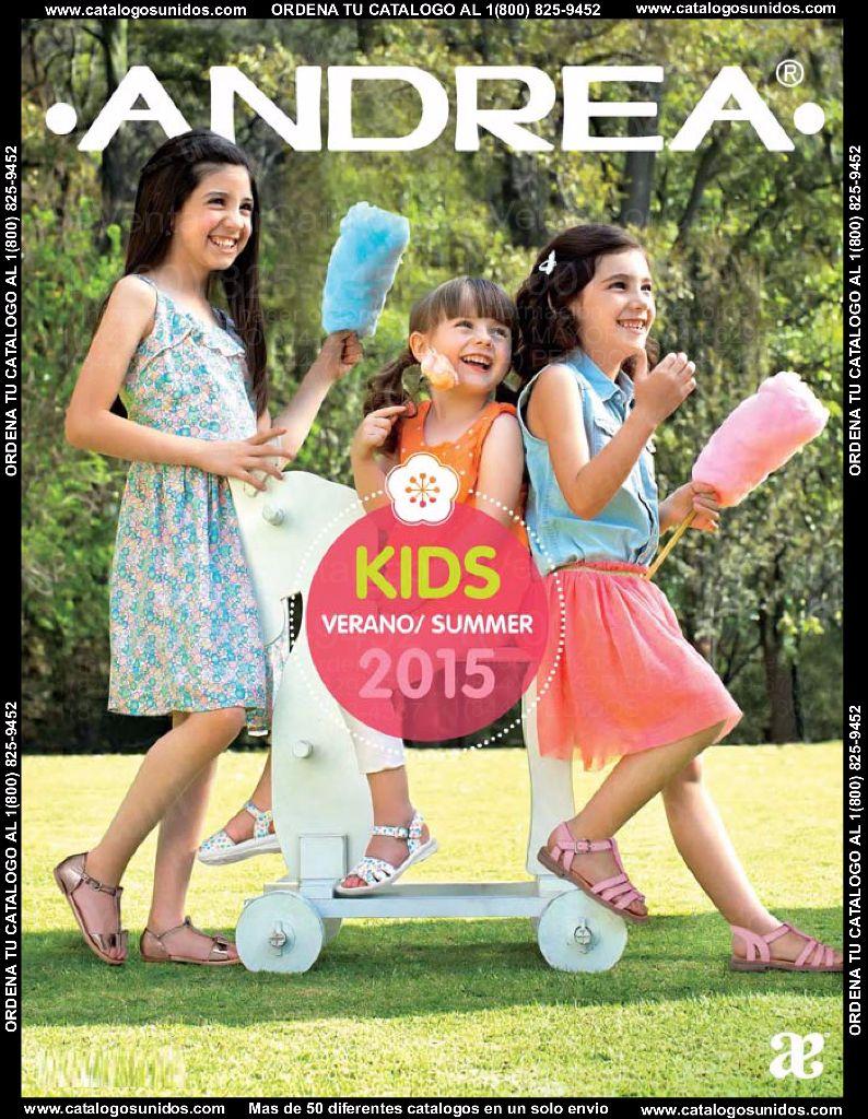 Andrea Zapatos para Niñas V'15