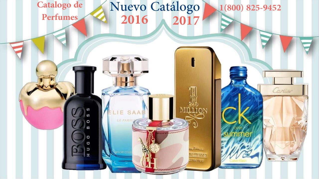 Catalogo de Pefumes para Vender