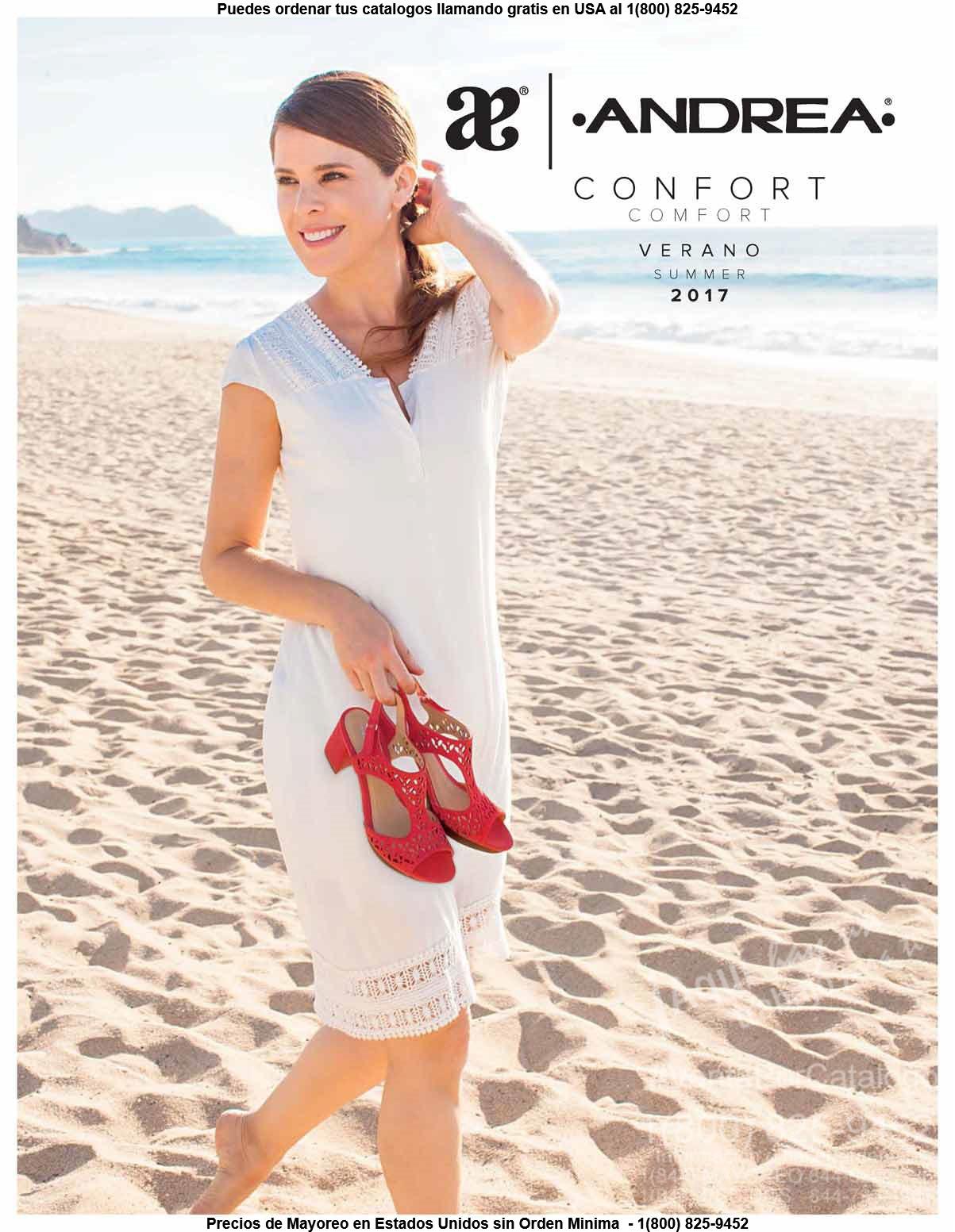 Confort Andrea: Catalogo Calzado Mujer Verano 2017